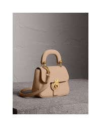 Burberry - Multicolor The Mini Dk88 Top Handle Bag In Honey | - Lyst