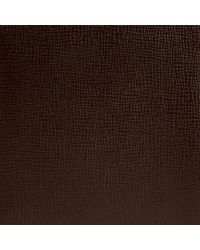 Burberry - Brown Bi-Fold London Leather Wallet for Men - Lyst
