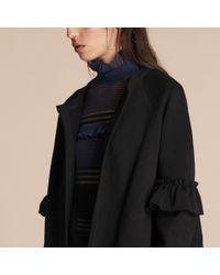 Burberry - Black Ashendon Puffer Jacket - Lyst