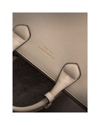 Burberry - Multicolor The Medium Banner In Leather With Fringed Pocket - Lyst