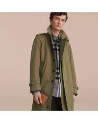 Burberry - Brown London Leather International Bifold Wallet Tan for Men - Lyst