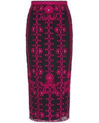 Temperley London   Multicolor Evadine Pencil Skirt   Lyst