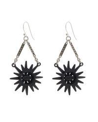 Lulu Frost | Black Radiant Earrings | Lyst