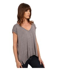 Billabong - Gray All A Dream Tee Shirt - Lyst