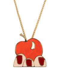 Sonia Rykiel - Orange Necklace - Lyst