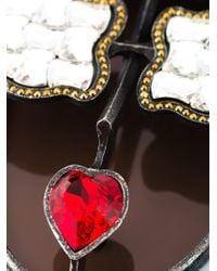Lanvin - Metallic 'zandro Hairdo' Necklace - Lyst