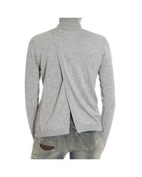 Pinko - Gray Sweater - Lyst