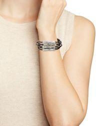Uno De 50 | Metallic Canes Bracelet | Lyst