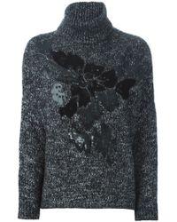 P.A.R.O.S.H. - Black 'nelrik' Sweater - Lyst