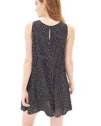 Forever 21 - Black Polka Dot Shift Dress - Lyst