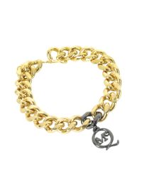 McQ | Metallic Chunky Chain Bracelet | Lyst