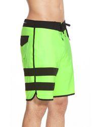 Hurley - Green 'phantom 60' Recycled Board Shorts for Men - Lyst