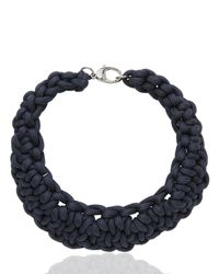Alienina - Blue Synthesis Collection Necklace for Men - Lyst