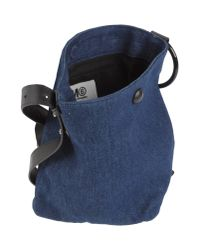 MM6 by Maison Martin Margiela - Blue Cross-body Bag - Lyst
