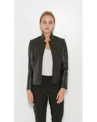 Zadig & Voltaire - Black Volya Deluxe Leather Jacket - Lyst