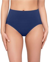 Yummie By Heather Thomson | Blue Nici Seamless Shaping Brief | Lyst