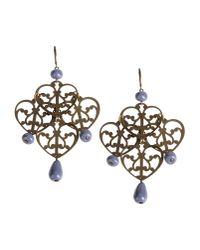Erika Cavallini Semi Couture - Purple Earrings - Lyst