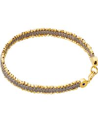 Astley Clarke | Metallic Thundercloud Woven Biography Bracelet | Lyst