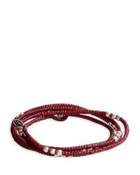 M. Cohen - Purple Bracelet for Men - Lyst