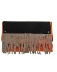 Ziba - Orange Paola Bag - Lyst