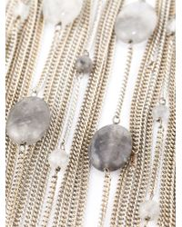 Rosantica - Metallic 'santa Barbara' Necklace - Lyst