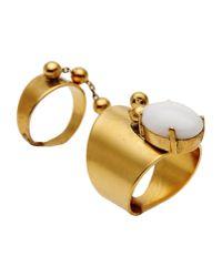 Ela Stone | Metallic Ring | Lyst