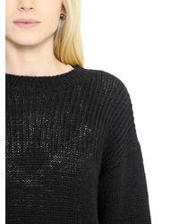 Étoile Isabel Marant   Black Wool & Alpaca Blend Sweater   Lyst