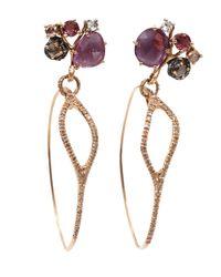 Federica Rettore | Purple Sapphire Mobile Earrings | Lyst