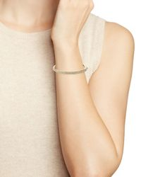 Nadri - Metallic Triple Row Bangle - Lyst