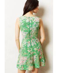 Maeve | Green Laced Verbena Dress | Lyst