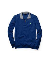 Ralph Lauren   Blue Slim-fit Cotton Pullover for Men   Lyst