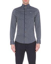 Vivienne Westwood | Blue Krall Striped Slim-fit Shirt for Men | Lyst