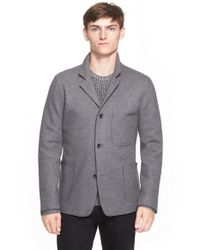 Rag & Bone - Gray 'kenyon' Knit Wool Blend Sport Coat for Men - Lyst