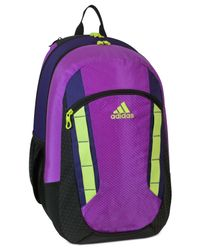 Adidas | Purple Excel Backpack for Men | Lyst