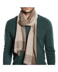 Gents - Natural Beige Cashmere Scarf for Men - Lyst