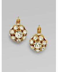 kate spade new york | Metallic Lady Marmalade Ball Leverback Earrings/Goldtone | Lyst