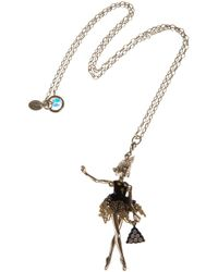 Servane Gaxotte - Metallic Girl Pendant Necklace - Lyst