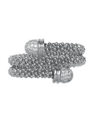Links of London | Metallic Star Dust Silver Wrap Ring | Lyst