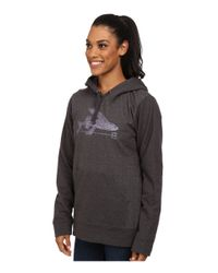 Patagonia - Black Ballpoint Flying Fish Mw Pullover Hooded Sweatshirt - Lyst