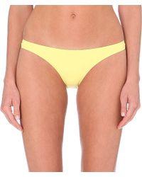 Melissa Odabash | Yellow Sumatra Bikini Bottoms | Lyst