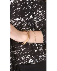 Kelly Wearstler - Metallic Hexagon Bangle - Lyst