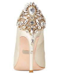 Badgley Mischka - White Poetry Ii Pumps - Lyst