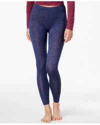 32 Degrees | Blue Knit Space-dyed Baselayer Leggings | Lyst