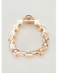 Mawi | Pink Mawi Bike Chain Bracelet | Lyst
