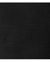 Reiss | Black Troy Patterned Sweatshirt for Men | Lyst