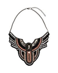 H&M | Pink Beaded Necklace | Lyst