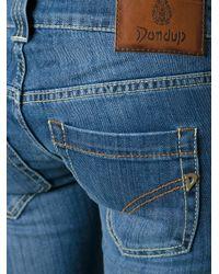 Dondup - Blue Bootcut Jean - Lyst