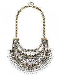 BaubleBar | Metallic Crystal Cleopatra Bib | Lyst