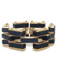 Lele Sadoughi | Blue Garden Fence Bracelet, Midnight | Lyst