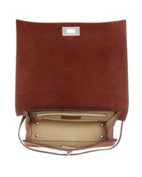 Givenchy - Brown Shark Small Suede Tote - Lyst